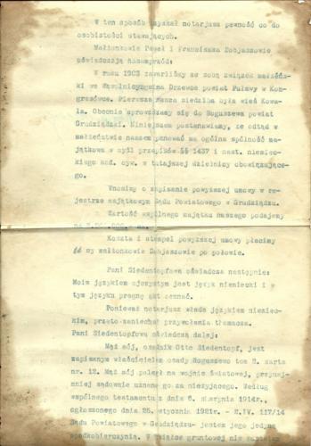 1922r  dobiasz   akt kupna gospodarstwa  2