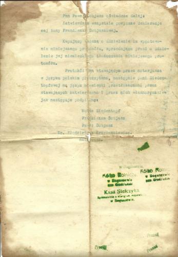 1922r  dobiasz   akt kupna gospodarstwa  6