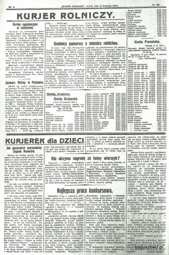 11-1934r. Cała strona Kurjer Bydgoski - Osadnicy pomorscy