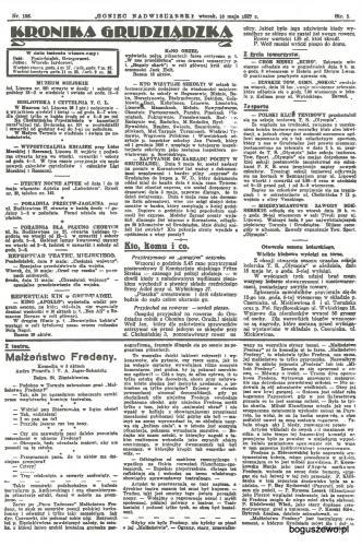 13-1927r. Cała strona Goniec Nadwiślański - Kto wizytuje szkoły
