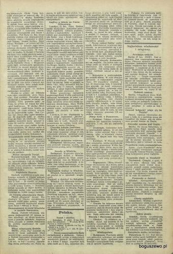 19-1915r. Cała strona Gazeta Totuńska - Wypadek