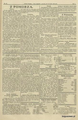21-1928r. Cała strona Gazeta Gdańska - Linowo Boguszewo