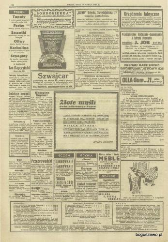 23-1937r. Cała strona Gazeta Gdańska - Fabryka