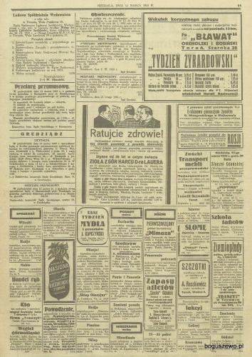25-1933r. Cała strona Gazeta Gdańska - Tracz sprzeda radio