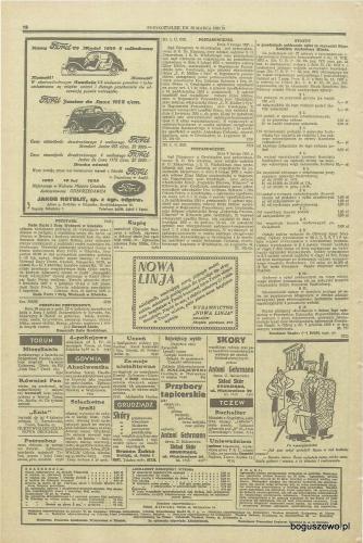 27-1935r. 25 marca Cała strona Gazeta Gdańska - Upadłość cegielni parowej
