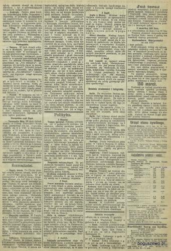 30-1909r. 03 Cała strona Gazeta Toruńska -  Szkoła