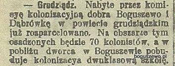 31-1909r. 12 Wycinek Gazeta Toruńska -  Szkoła
