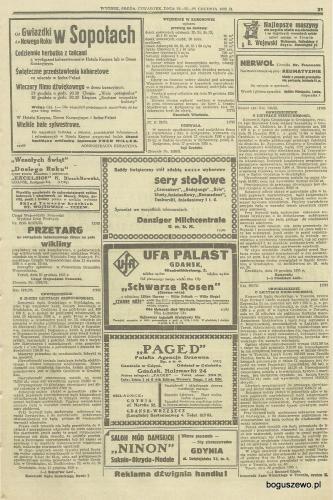 32-1935r. grudzień Cała strona Gazeta Gdańska - Licytacja fabryki