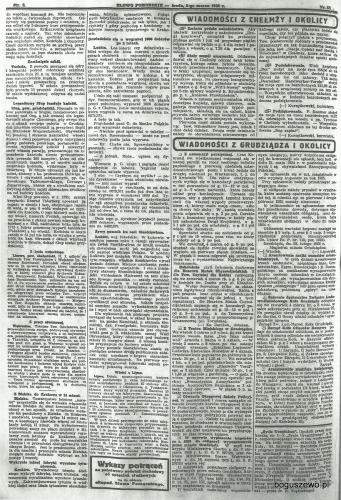 40-1926r. Cała strona Słowo Pomorskie - Kościół w Słupie