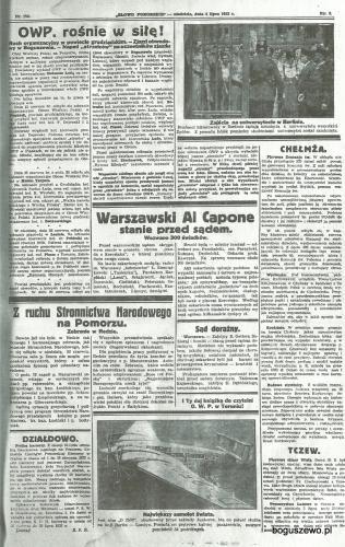 44-1932r. Cała strona Słowo Pomorskie - OWP w Boguszewie