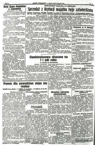 50-1934r.Cała strona Słowo Pomorskie - Majkowski