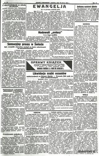 54-1935r. 10 marca Cała strona Słowo Pomorskie - Wybory radnych gminnych