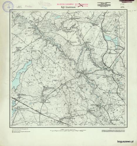 Boguszewo i okolice przed parcelacją  1911
